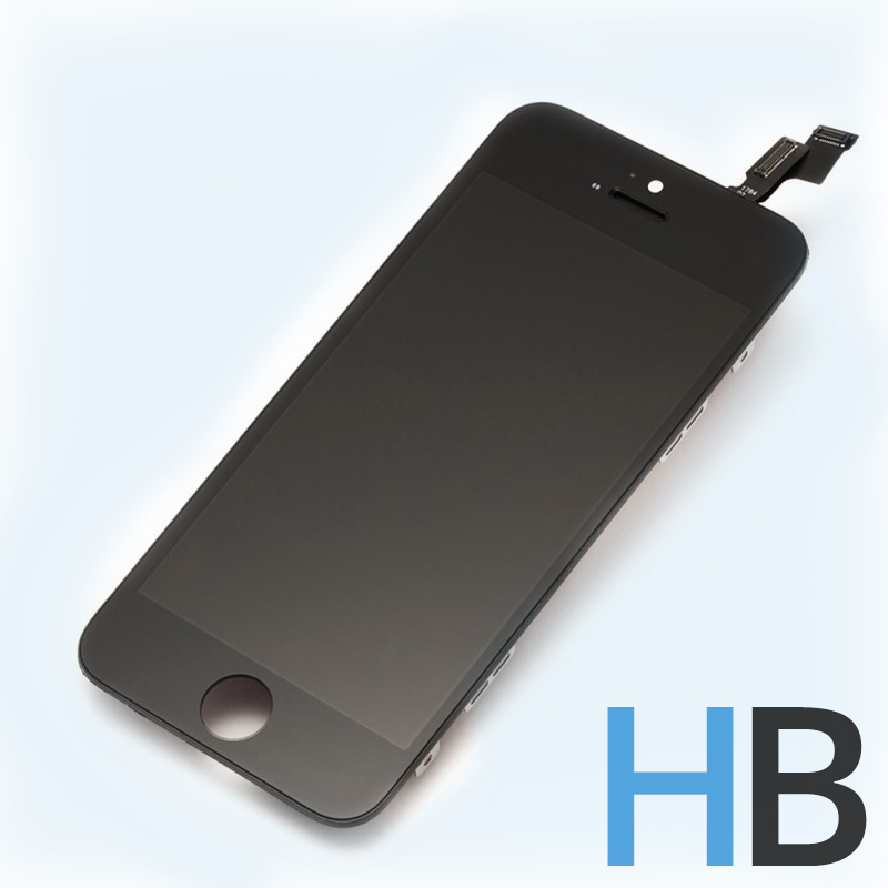 iphone 5s schwarz lcd display digitizer nicht vormontiert. Black Bedroom Furniture Sets. Home Design Ideas